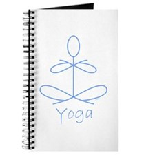 Yoga in Baby Blue Journal