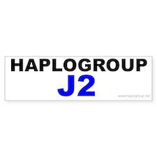 Haplogroup J Bumper Bumper Sticker