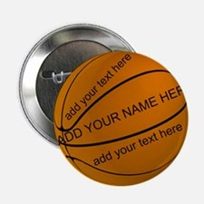 "Basketball 2.25"" Button"