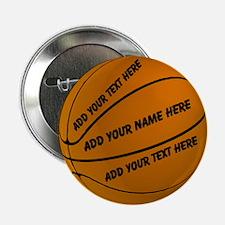 "Basketball 2.25"" Button (100 pack)"