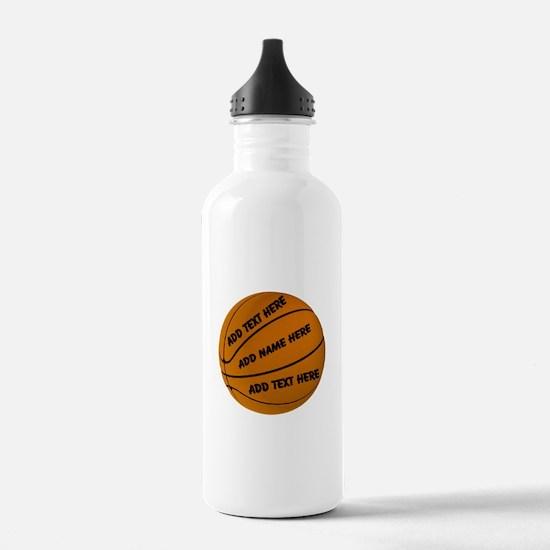 Basketball Sports Water Bottle