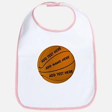 Basketball Cotton Baby Bib