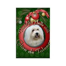 Christmas - Deck the Halls - Coton de Tulears Rect