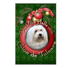 Christmas - Deck the Halls - Coton de Tulears Post