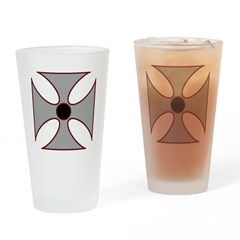 Iron Cross Drinking Glass