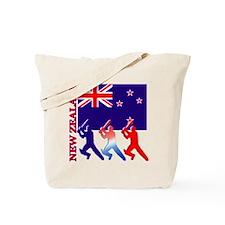Cricket New Zealand Tote Bag