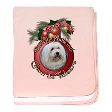 Christmas - Deck the Halls - Coton de Tulears baby
