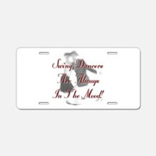 Always In the Mood Aluminum License Plate