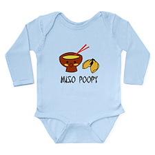 Miso Poopy Long Sleeve Infant Bodysuit