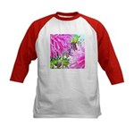 FLOWER WHISPER Kids Baseball Jersey
