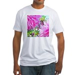 FLOWER WHISPER Fitted T-Shirt