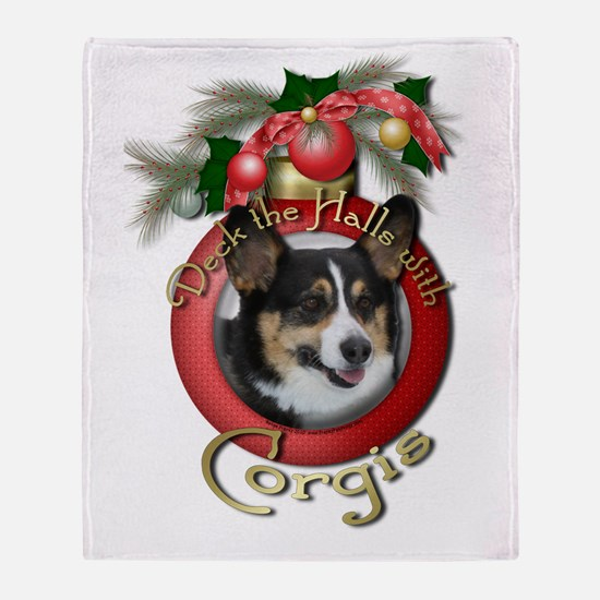 Christmas - Deck the Halls - Corgis Stadium Blank