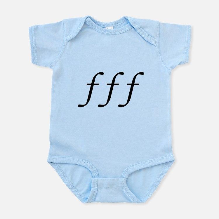 Fortissimo Infant Bodysuit
