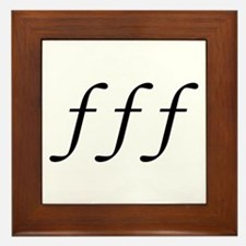 Fortissimo Framed Tile
