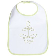 Yoga Glee in Green Bib