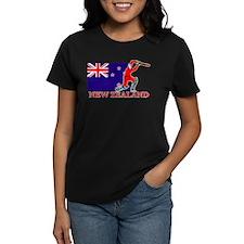 New Zealand Cricket Player Tee