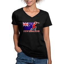 New Zealand Cricket Player Shirt