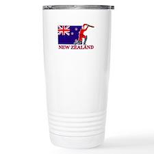 New Zealand Cricket Player Travel Mug