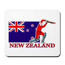 New Zealand Cricket Player Mousepad