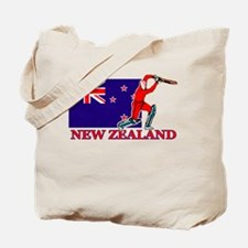 New Zealand Cricket Player Tote Bag