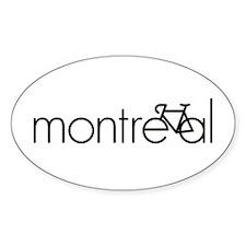 Bike Montreal Decal
