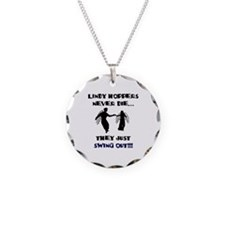 Lindy Hoppers Never Die Necklace