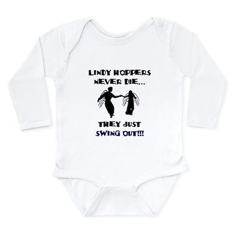 Lindy Hoppers Never Die Long Sleeve Infant Bodysui
