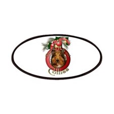 Christmas - Deck the Halls - Collies Patches