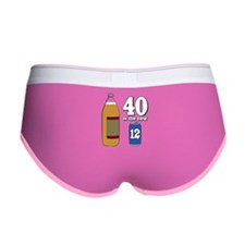 40 is the New 12 Women's Boy Brief