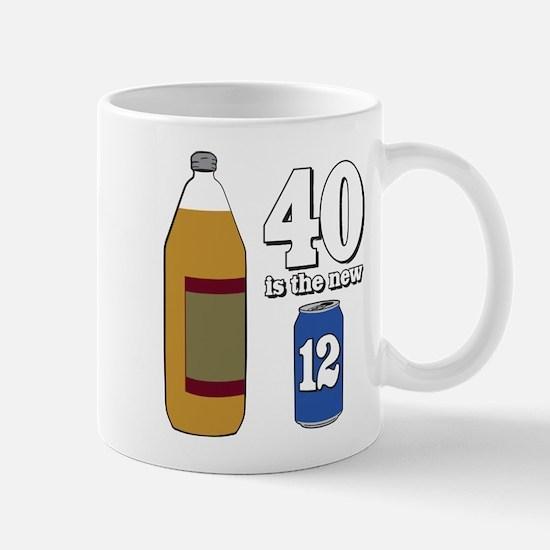 40 is the New 12 Mug