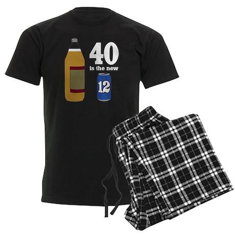 40 is the New 12 Men's Dark Pajamas