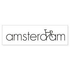 Bike Amsterdam Bumper Sticker