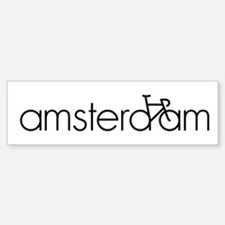 Bike Amsterdam Car Car Sticker