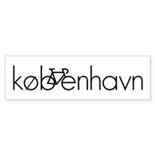 Bike Kobenhavn Car Sticker