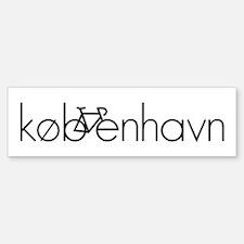 Bike Kobenhavn Sticker (Bumper)