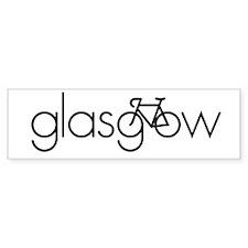 Bike Glasgow Bumper Sticker