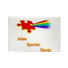 Autism Spectrum Disorder Rectangle Magnet