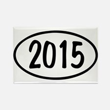 2015 Oval Rectangle Magnet