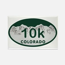 10K Colo License Plate Rectangle Magnet