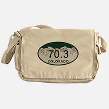 70.3 Colo License Plate Messenger Bag