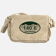 140.6 Colo License Plate Messenger Bag