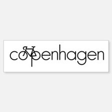 Bike Copenhagen Bumper Bumper Sticker
