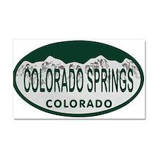 Colorado Springs Colo License Plate Car Magnet 20