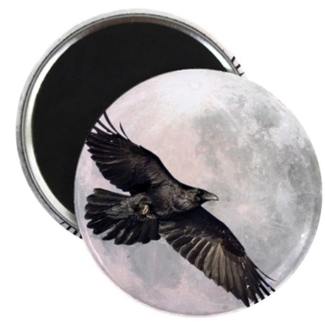 Flying Crow Magnet