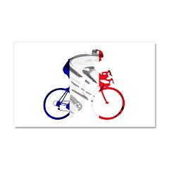 le Tour de France Car Magnet 20 x 12
