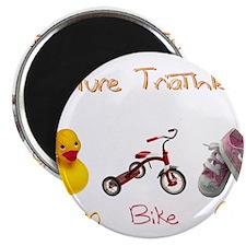 Future Girl Triathlete Magnet