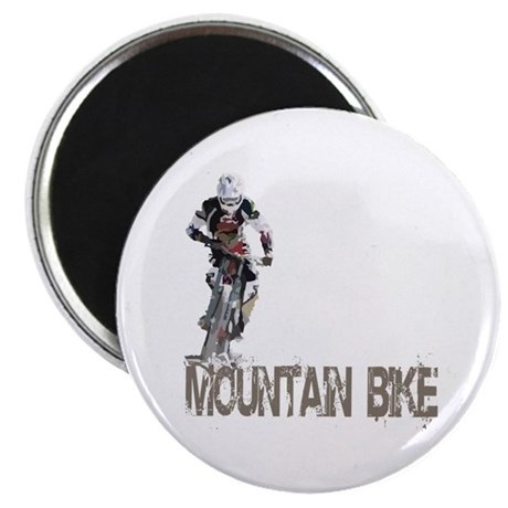 Mountain Bike Left Magnet