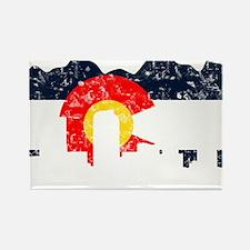 Unique Denver colorado Rectangle Magnet