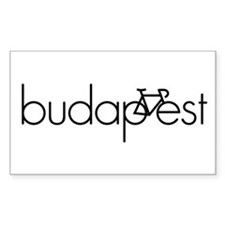 Bike Budapest Decal