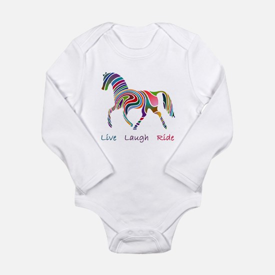Rainbow horse gift Onesie Romper Suit